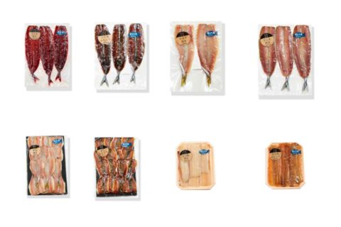 骨とり干物セット(化粧箱入り)